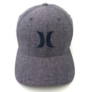Hurley Men's Flexfit Icon Textured Baseball Cap